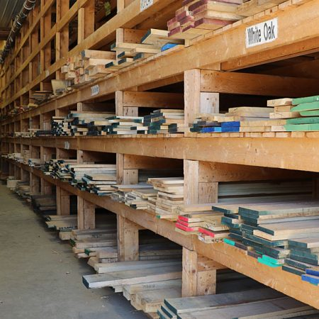 Photo of Hardwood Racks at Goosebay Lumber