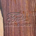 Close-up Photo of Cocobolo Wood Grain