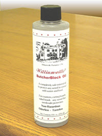 Photo of Bottle of Williamsville Butcher Block Oil