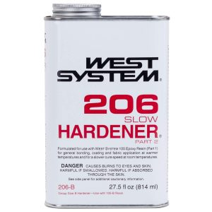 Photo of Bottle of West System 206 Slow Hardener Part 2