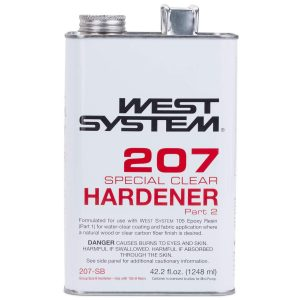 Photo of Bottle of West System 207 Special Clear Hardener Part 2