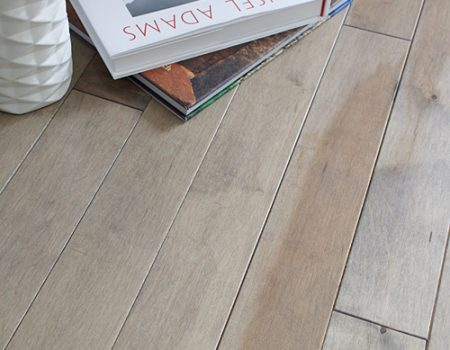 Photo of Maine Traditions Classic Collection Flooring Hard Maple Pebble Stain