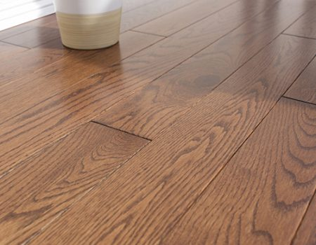 Photo of Maine Traditions Classic Collection Red Oak Auburn Stain Flooring