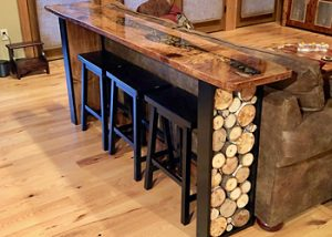 Live Edge River Table by Jay Seaton