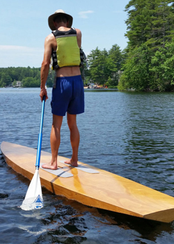 Christophe Matson on his Taal SUP