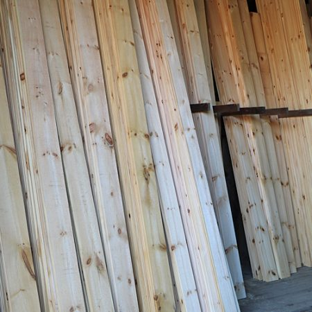 PhoTo of Shiplap Pine, Eastern White Pine, and V-groove Pine at Goosebay Lumber in Chichester, New Hampshire