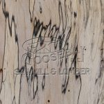 Close up photo of the grain and patterning of Spalted Maple Lumber