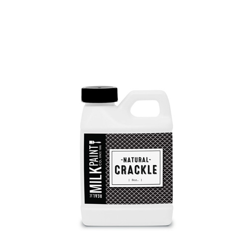 Photo of container of Real Milk Paint Company Natural Crackle Paint Finish