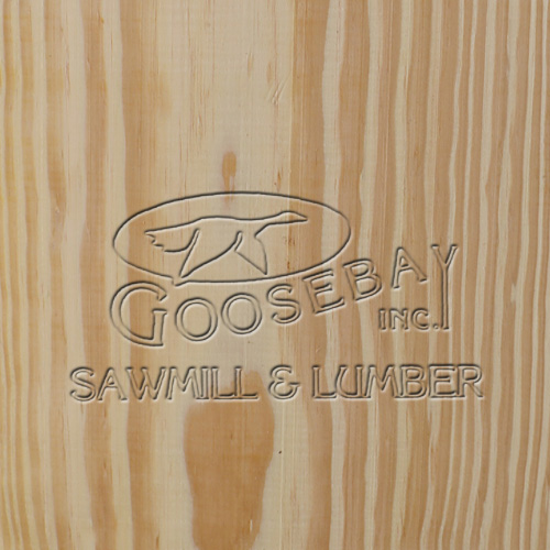Close up photo of the grain of Southern Yellow Pine Wood