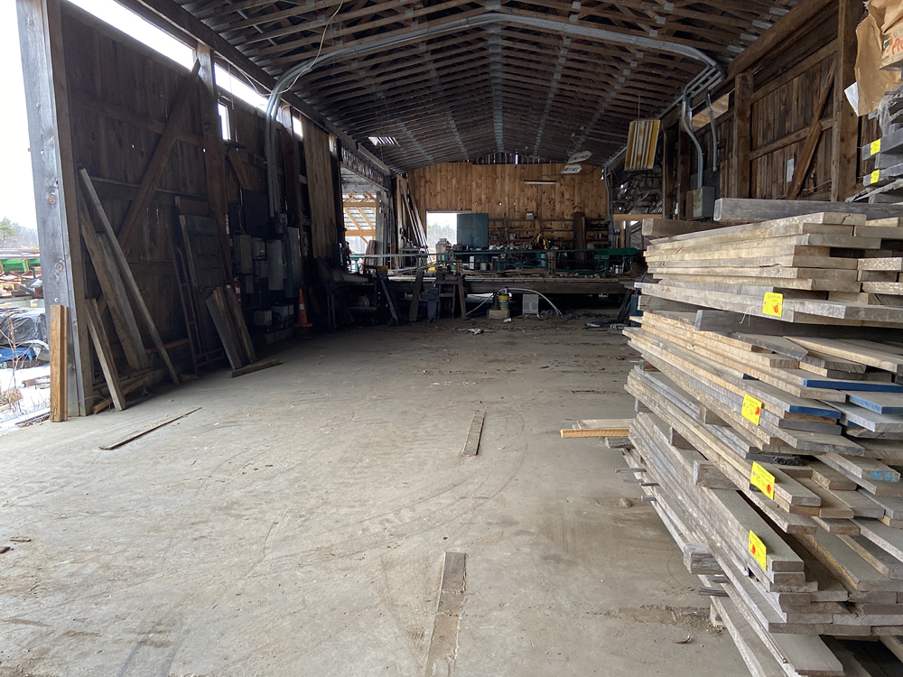 Photo of the Empty Warehouse.