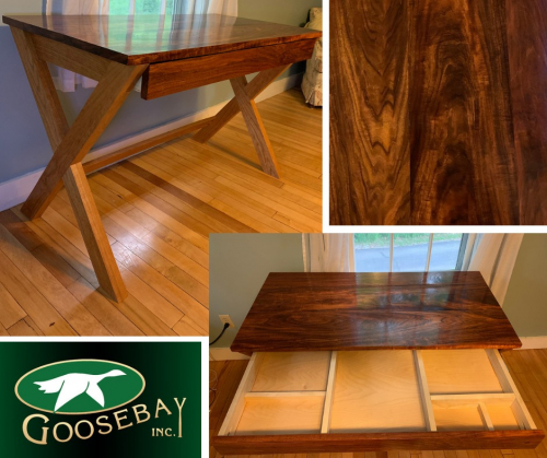 Fine crafted desk with drawer