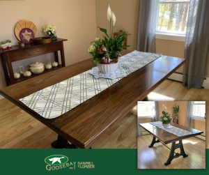 Photo of dining room table