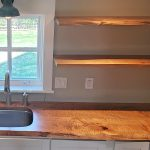 Photo of Maple Live edge Kitchen created by Z Design